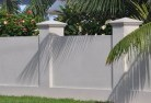 Adams Estate Barrier wall fencing 1
