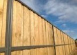 Lap and Cap Timber Fencing Temporary Fencing Suppliers